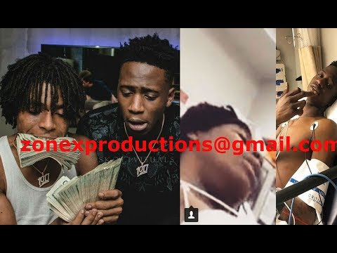 Gucci Mane Artists Yung Mal & Lil Quill SHOT 5 times by Yo Gotti & Moneybagg yo in Tennesee