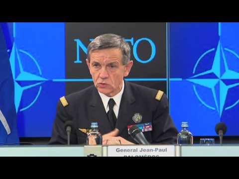 Press briefing with General Jean-Paul Paloméros, Supreme Allied Commander Transformation (SACT) 2/2