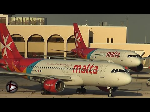 Airline Spotting - Malta International Airport