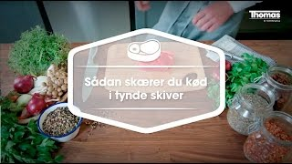 Bilka: Knives Skills - How to thinly slice raw meat (Thomas knives activation campaign, 2015)