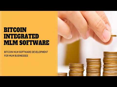 Bitcoin MLM Software 2018 | Cryptocurrency MLM Software