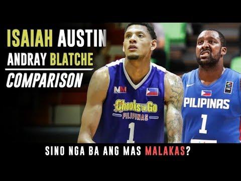 Andray Blatche vs Isaiah Austin | Sino ang mas MALAKAS? | Comparison ᴴᴰ