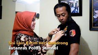 Mengenal Lebih Dekat Katim Heri Gondrong Jatanras Polda Sumsel