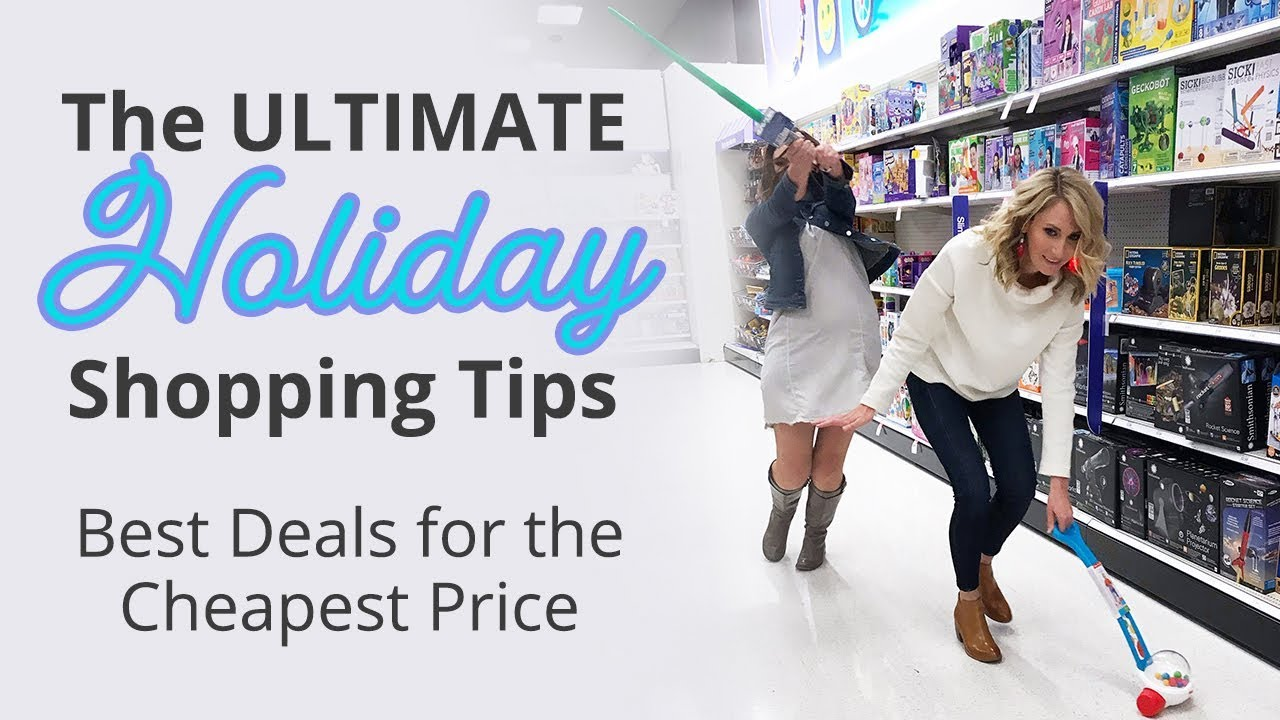 230d1ccd2f 5 ULTIMATE Holiday Shopping Tips (for 2018). The Krazy Coupon Lady