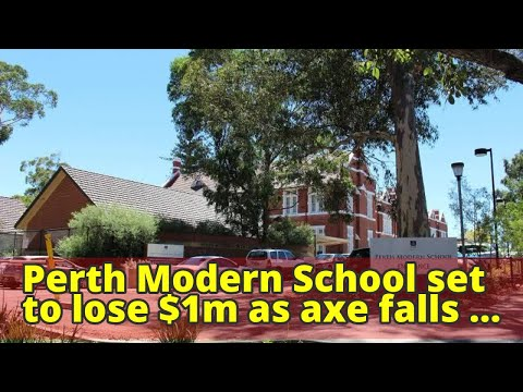 Perth Modern School set to lose $1m as axe falls on gifted and talented programs