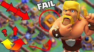 9 out of 10 Players CAN'T FIGURE OUT This Base in Clash of Clans! Builder Hall 6 Defense!