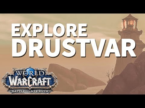 Western Watch WoW BfA Explore Drustvar