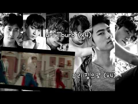 2PM - My House (우리 집) (karaoke/instrumental)