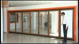 Winsa - Katlanır Kapı (7 Kanat) (Dorado)