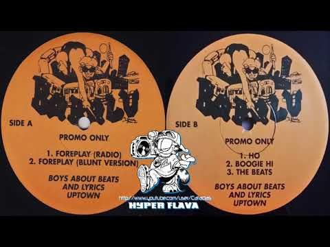 Boys About Beats And Lyrics Uptown (BABALU) -  Foreplay (Full VLS) (1995)
