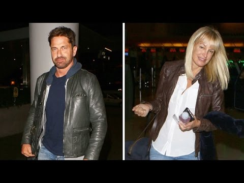 Gerard Butler Bounces Back From Breakup With A New Blonde Fling