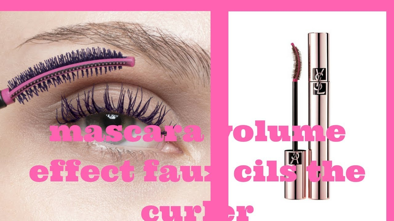 c1cd7e237a0 MASCARA VOLUME EFFET FAUX CILS THE CURLER YSL - YouTube