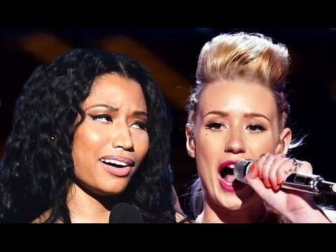 Nicki Minaj Disses Iggy Azalea BET Awards 2014