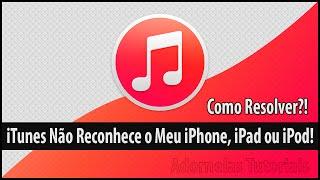 Como Resolver Erro que iTunes Não Reconhece o iPhone, iPad ou iPod - Atualizado - 2015