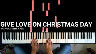 Give Love on Christmas Day - Piano Cover