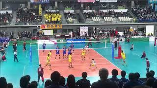水町泰杜 鎮西高校 vs 近江高校 3セット目 春高バレー2019男子準々決勝