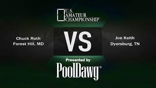 2018 US Amateur Championship - Round 12 - Joe Keith VS Chuck Roth