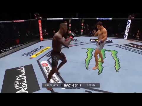 Paulo Costa VS Israel Adesanya (UFC 253) Melhores Momentos