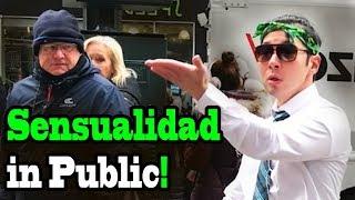 BAD BUNNY, PRINCE ROYCE, J BALVIN - 'Sensualidad' - SINGING IN PUBLIC!
