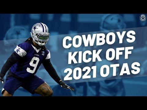 Dallas Cowboys Hold Second Day of OTA's   Blogging the Boys