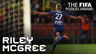 #puskasaward RILEY MCGREE GOAL – VOTE NOW!