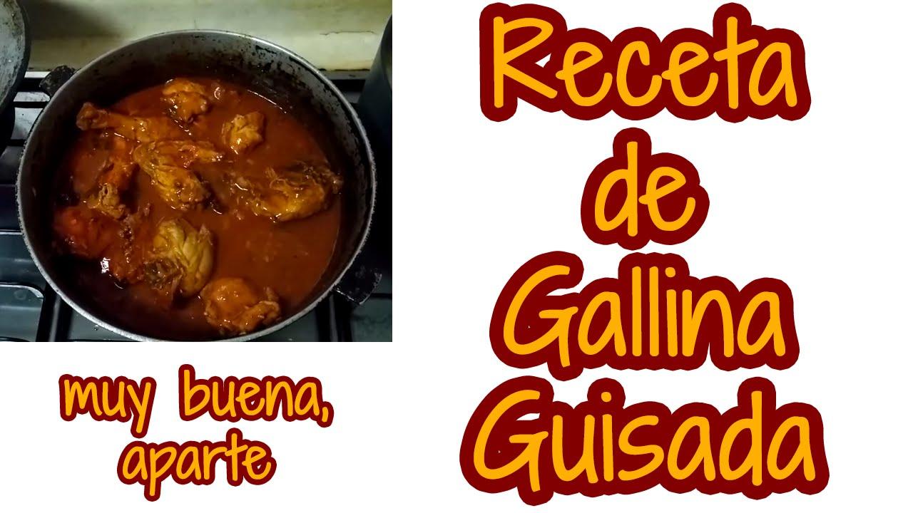 Cocinar Gallina | Receta De Gallina Guisada Panamena Comida Panamena Youtube
