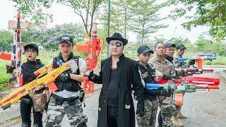 LTT Nerf War : Special Mission SEAL X Warriors Nerf Guns Fight Criminal Group Dr Lee Sinister couple
