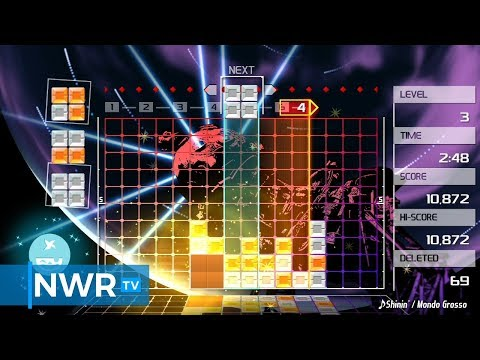 Lumines Remastered (Switch) Review