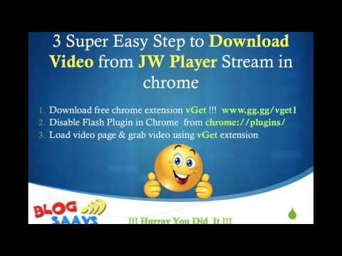 Download JWPlayer Videos in 3 Super Easy Steps