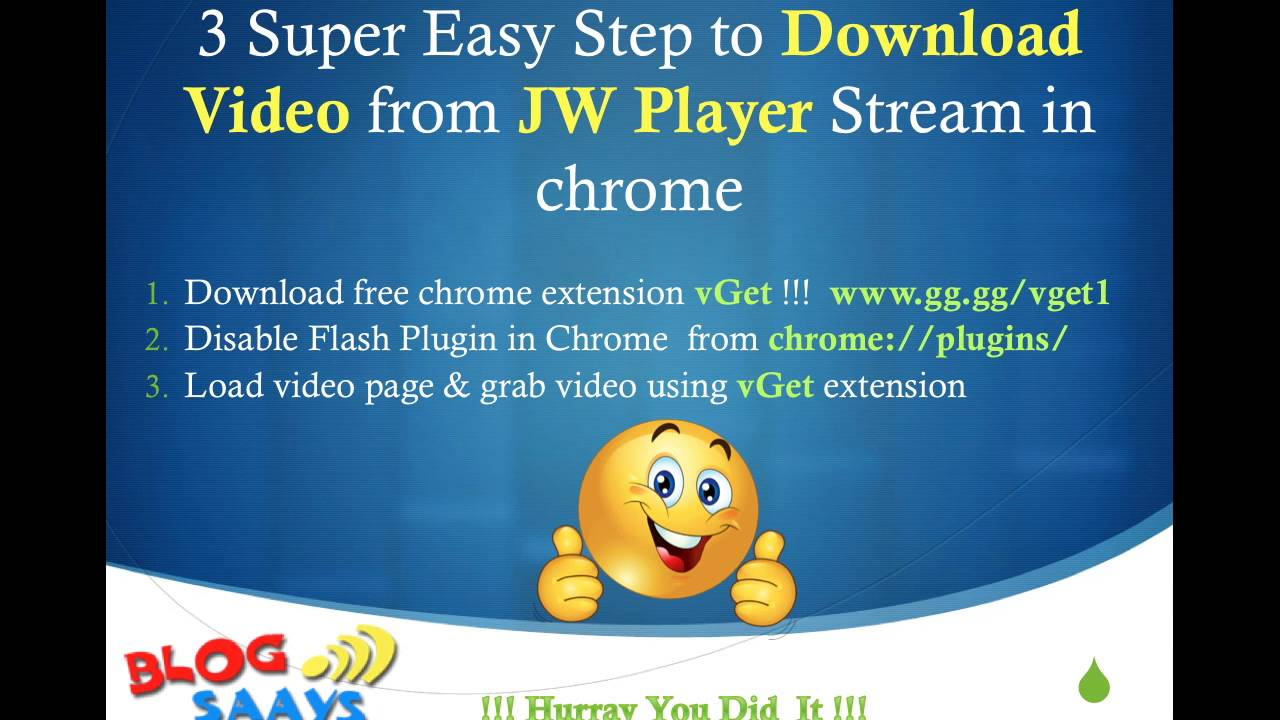 How to download jw player videos working method in 2019.