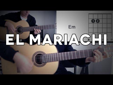 El Mariachi Tutorial Cover - Guitarra [Mauro Martinez]