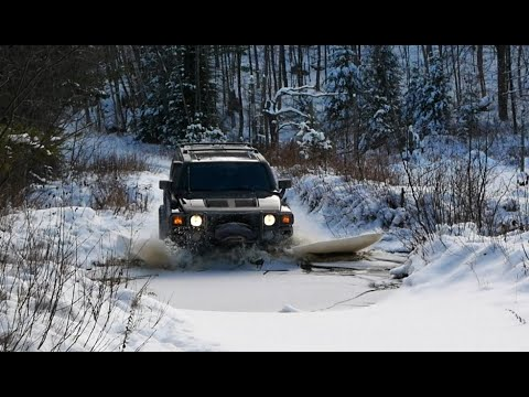Winter Overlanding 4x4 In Snow In Canada  - Vlog 20191215