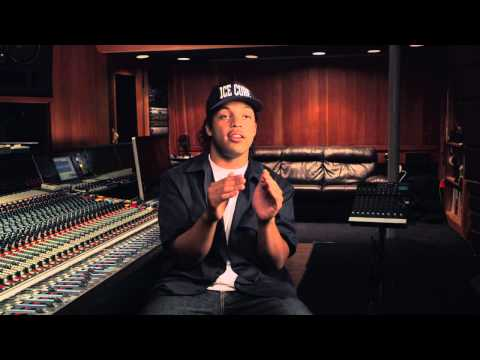 "Straight Outta Compton: Oshea Jackson Jr. ""Ice Cube"" Behind the Scenes Movie Interview"