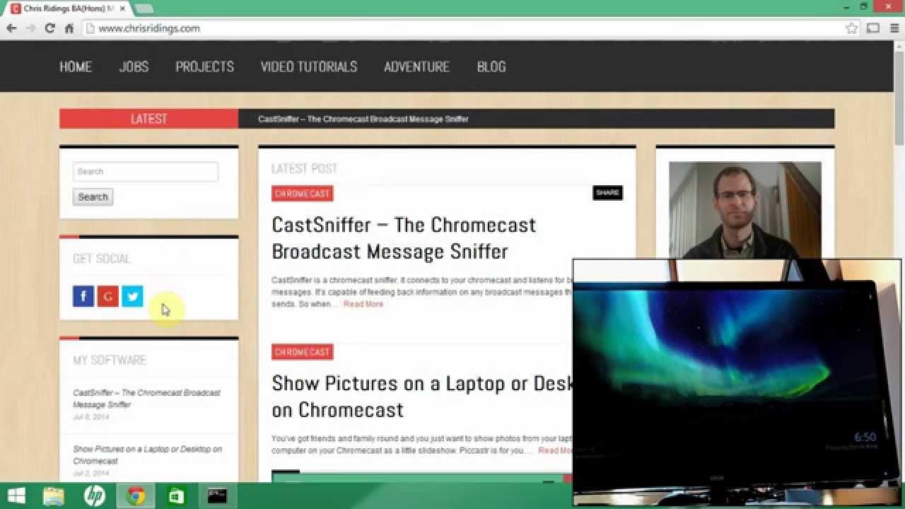 How to Hack a Chromecast App using CastSniffer