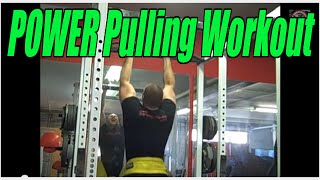 Underground Strength Show # 58: Pulling Power, Weighted Pull Ups & Rows