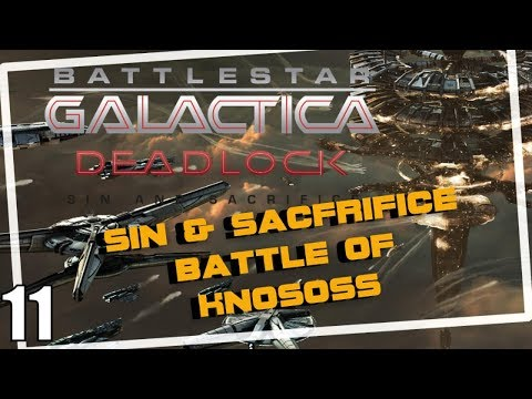 Battlestar Galactica Deadlock Battle of Knossos Sin and Sacrifice