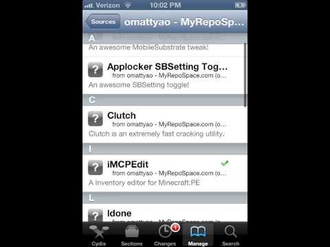 (UPDATE version) minecraft hack(iMCPEdit) ipod/iphone/ipad