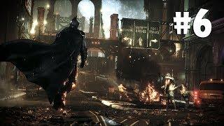 #6 Batman Arkham Knight | Врыв на Остров Основателей и первая стычка с Рыцарем, появление Харли