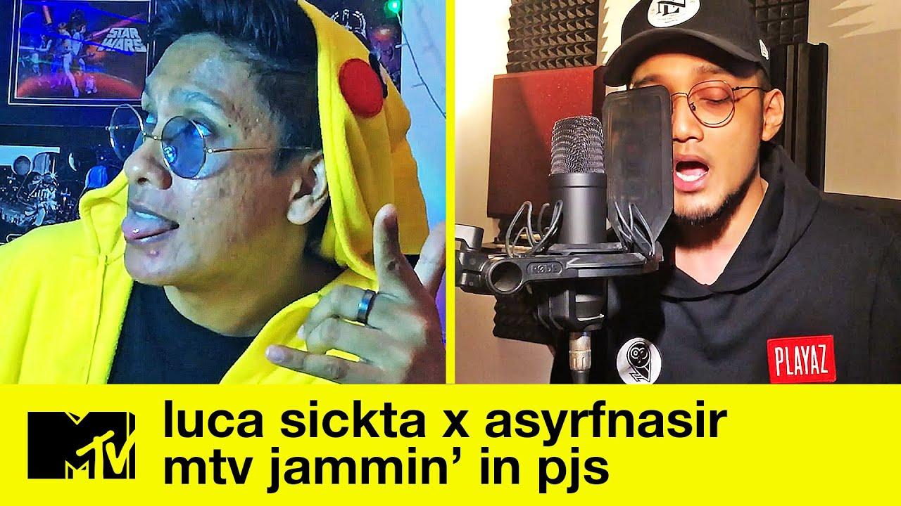 "Luca Sickta x ASYRFNSIR - ""Gong Nekara x Nekad"" + ""VIRUS"" + ""ILY x ZUHUD"" | MTV Jammin' in PJs"