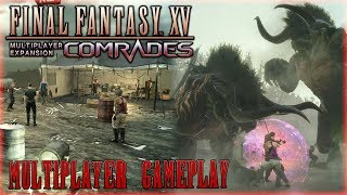 FINAL FANTASY XV: MULTIPLAYER EXPANSION COMRADES DLC - Gameplay[GERMAN]