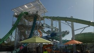 New waterslide remains closed after 10-year-old flies off it
