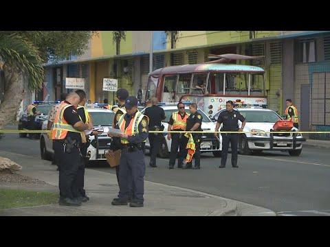 Driver arrested following deadly pedestrian crash in Kakaako