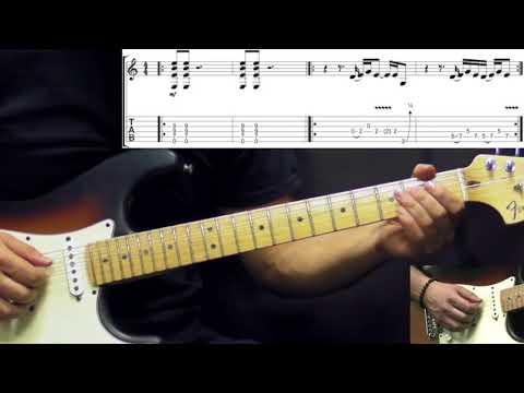 Peter Gabriel  Digging In The Dirt  Rock Guitar Lesson wTabs