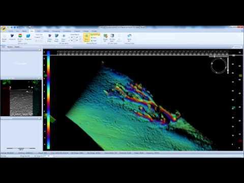 Détail inspection sous-marine: Arbres et distance - MSi3D