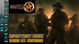 Wasteland 2 - Buried E.T. Game Cartridge Easter Egg