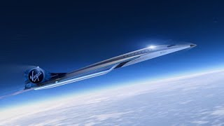 Virgin Galactic partners with Rolls Royce to build a supersonic aircraft