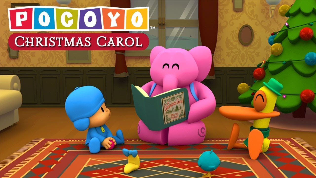 POCOYO in ENGLISH - Christmas Carol by Charles Dickens | VIDEOS and CARTOONS FOR KIDS - YouTube