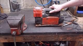 I repair a dumpster diver portable 12 volt car air compressor