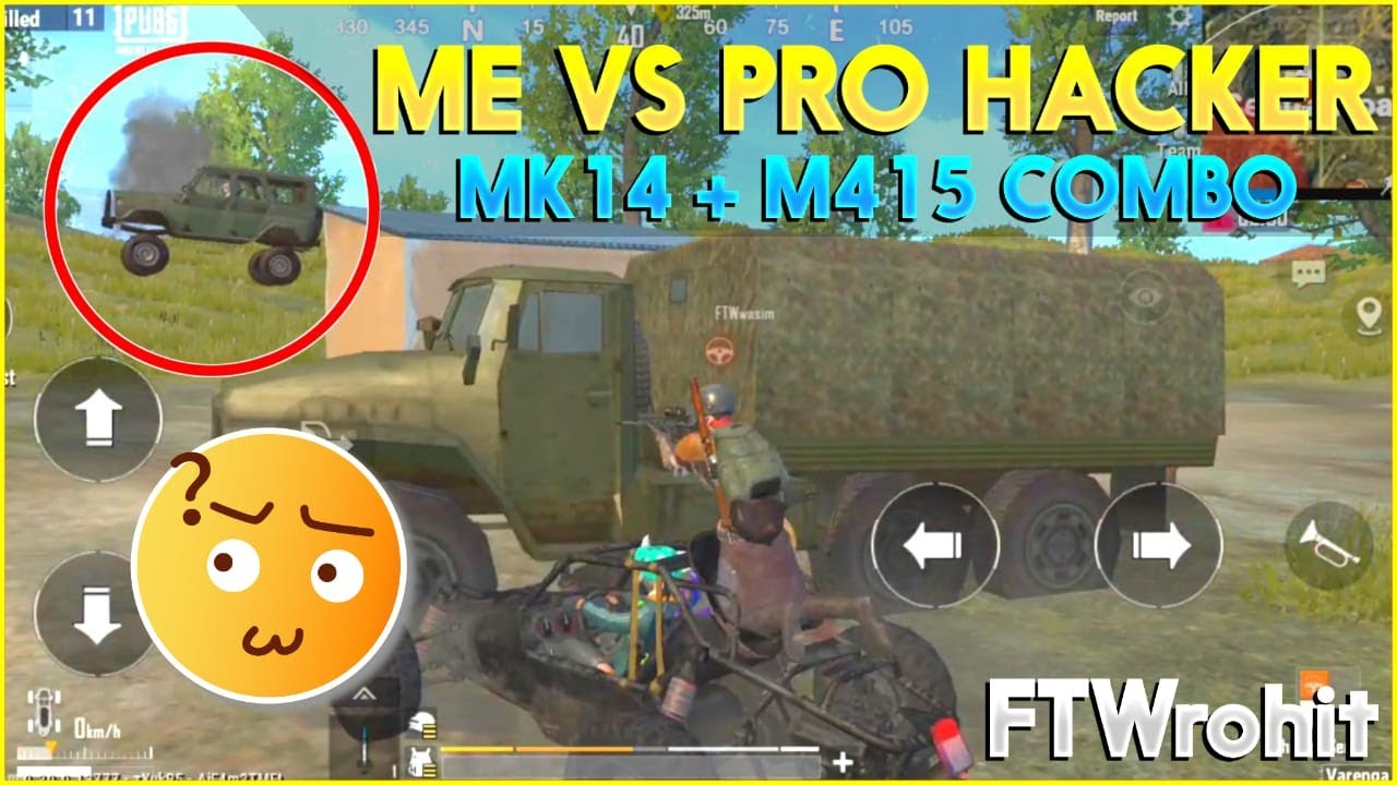 ME VS PRO HACKER | HEAD TO HEAD FIGHT | PUBG MOBILE LITE 19 KILLS GAMEPLAY | KILLED BY RPG  FTWrohit