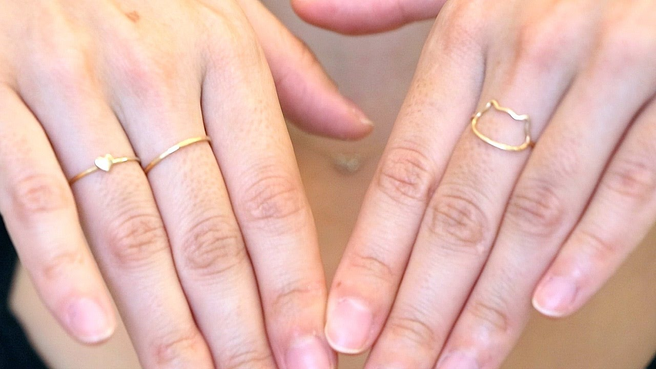 The Best Place To Find Dainty Everyday Jewelry Closet Closeup